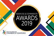 South African Chamber of Commerce Award Business Person of the Year 2018