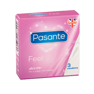Pasante Feel Condoms (3 Pack)